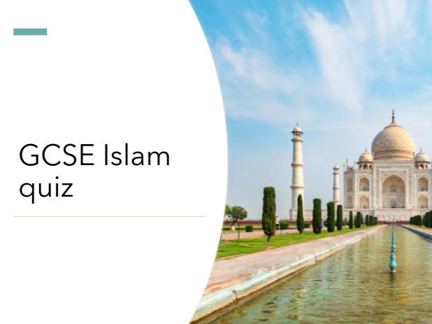 GCSE Islam Quiz