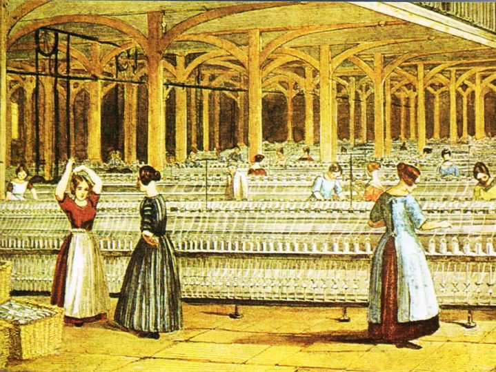 The Textile Industry 1750 - 1900