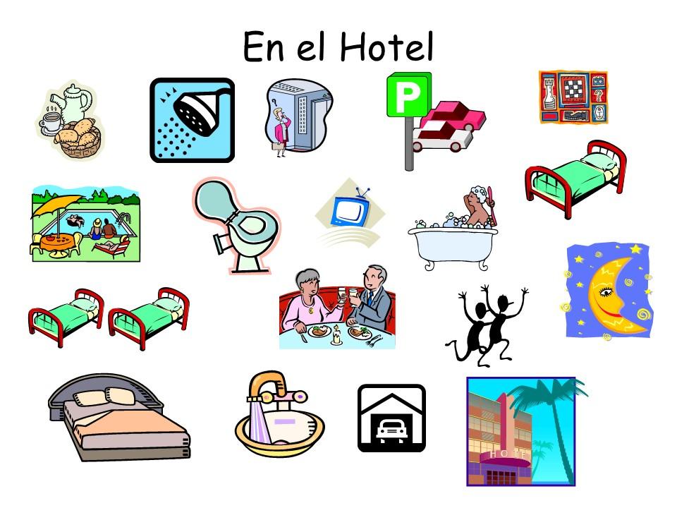 En el Hotel - Powerpoint Presentation