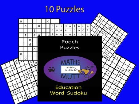 Pooch Puzzles: Education Sudoku