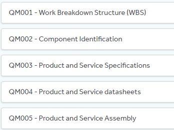 QM002 Component Identification