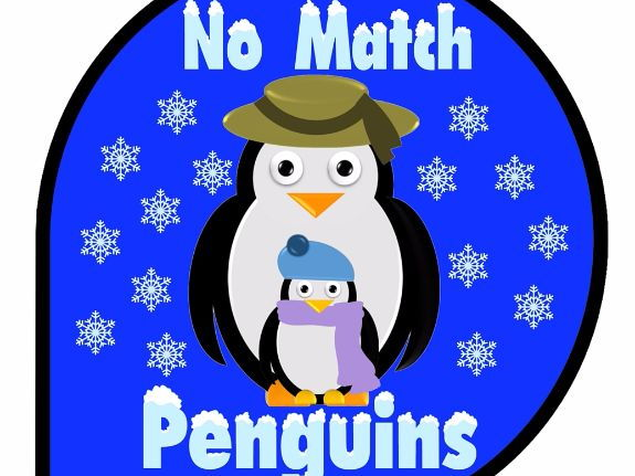 Executive Functioning Card Game: No Match Penguins