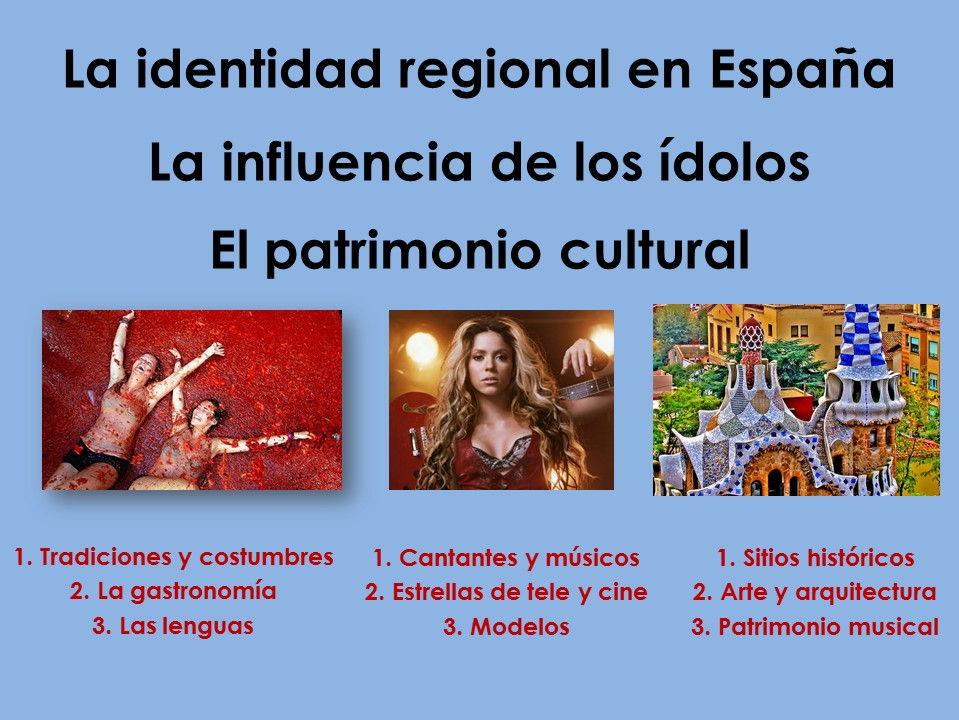 AQA New AS/A Level Spanish La identidad regional, La influencia de los ídolos y El patrimonio cultural