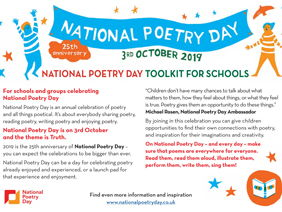National Poetry Day Toolkit 2019