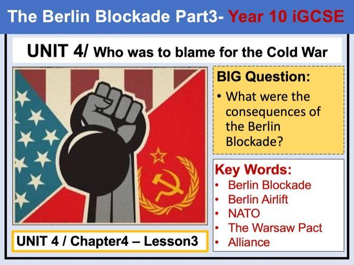 Cambridge IGCSE History - Unit 4 - Chapter4 - Lesson3