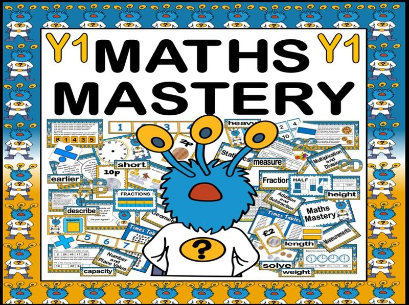 MATHS MASTERY TEACHING RESOURCES FOR YEAR 1 KS1 NUMERACY CAPTAIN CONJECTURE