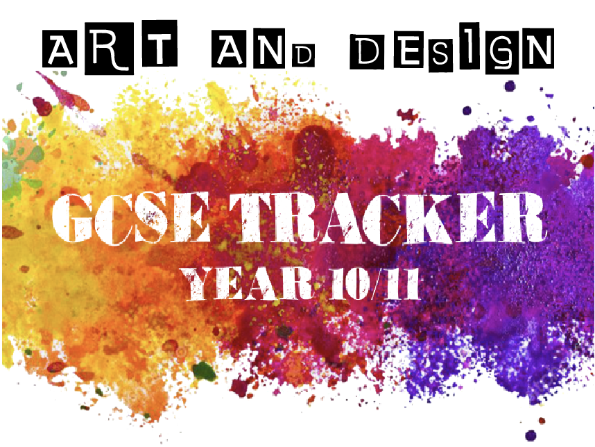 GCSE Art and Design booklet / tracker A4 - OCR spec
