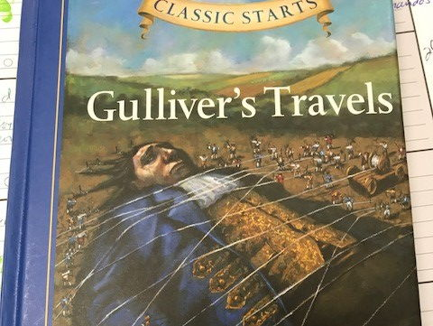 Gulliver's Travels Chapter T/F & Short Answer Questions from Classic Starts Book