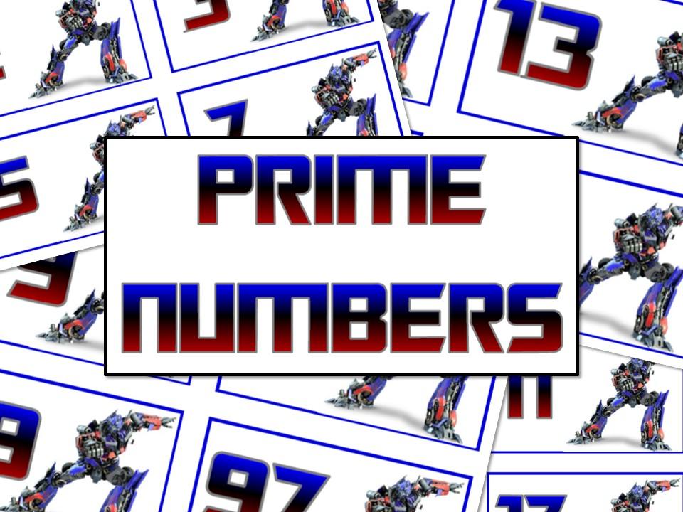 Prime Number Display