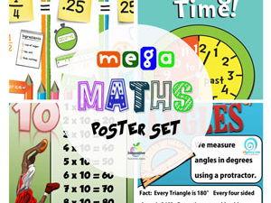 Maths Posters Big Bundle