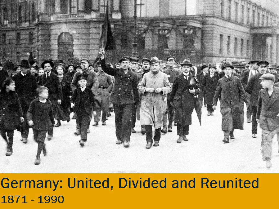 Germany: united, divided and reunited