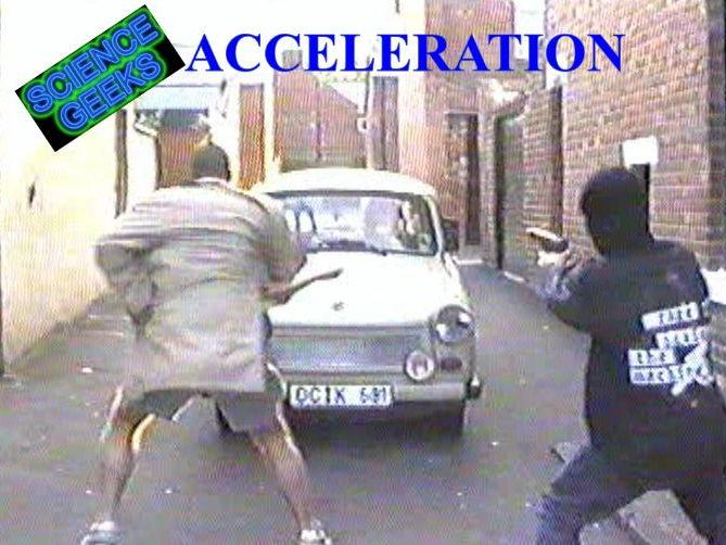 CALCULATING ACCELERATION PRESENTATION!