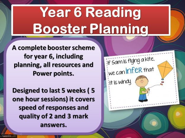 Year 6 Reading Booster Unit