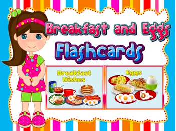Breakfast Dishes and Eggs Flashcards (Role-play)