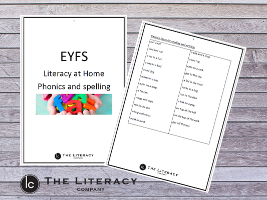 Spelling and Phonics at home - EYFS