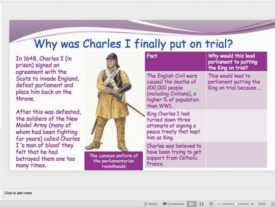 Regicide of Charles I