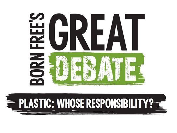 Plastic: Whose responsibility? Born Free's Great Debate for KS3
