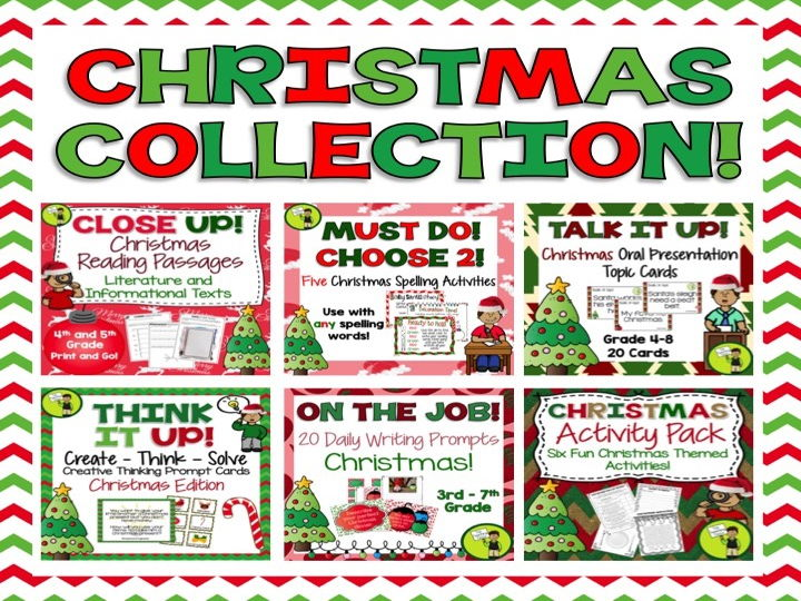 Christmas Collection - Bundle of Christmas Themed ELA Resources