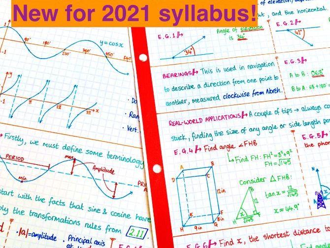 IB Maths AA SL - Topic 3 Trig Notes
