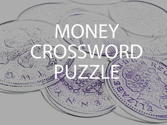 Money Crossword Puzzle