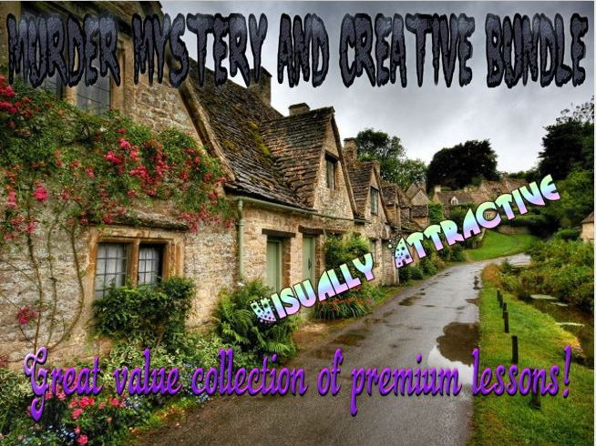 Murder Mystery and Creative Bundle