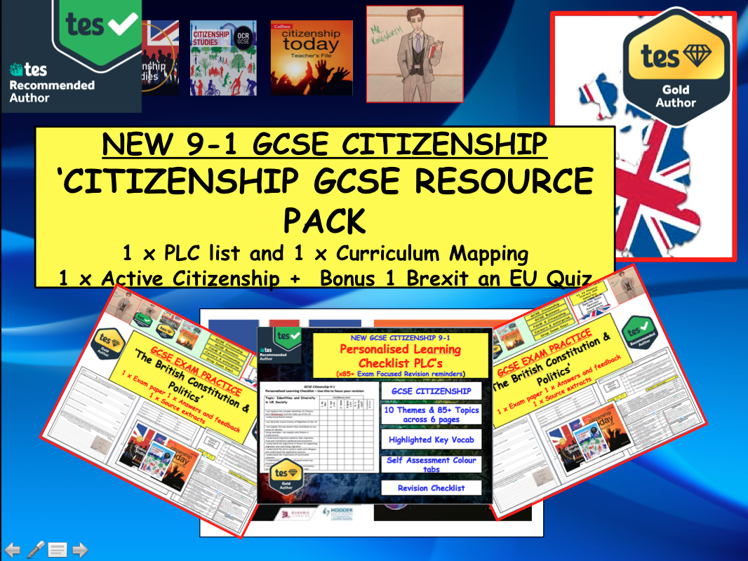 GCSE Citizenship Resources