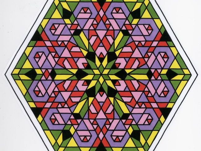 mandalas symmetry colouring 2d shapes