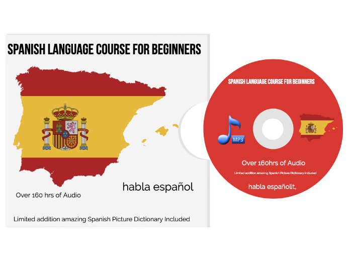 Learn to speak SPANISH - The Complete Language Training Course MP3 Audio 160 HRS