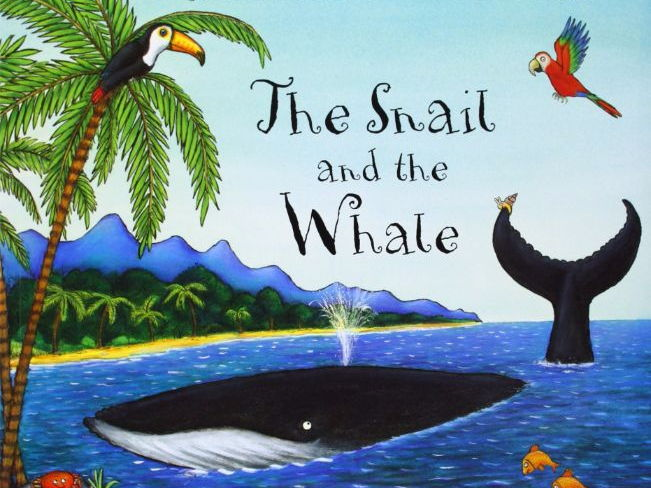 Year 1/2 Writing Plans & Resources: The Snail and The Whale (Week 1 out of 2) (FUN BOOK WEEK IDEA!)
