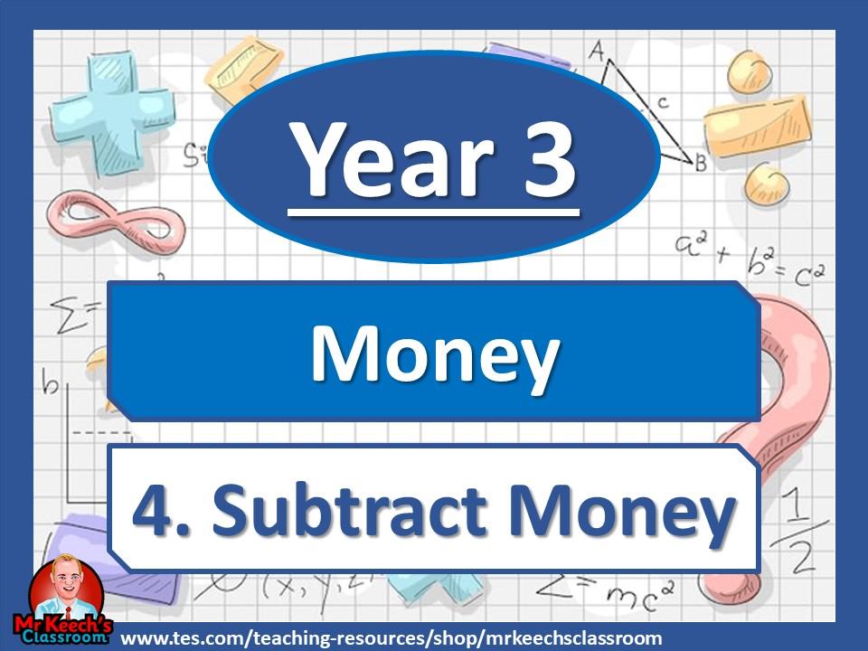 Year 3 – Money – Subtract money - White Rose Maths