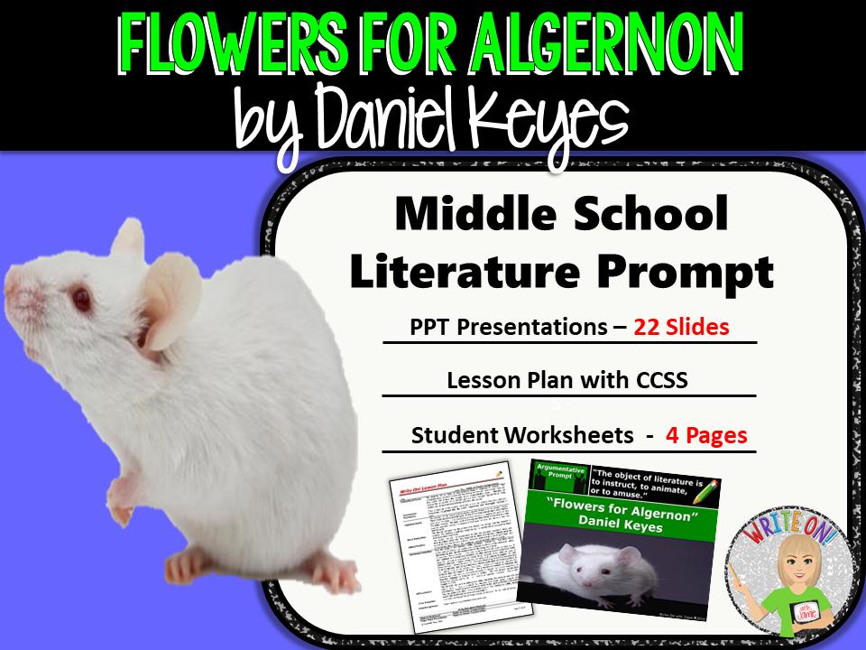 Flowers for Algernon by Daniel Keyes Text Dependent Analysis – Flowers for Algernon Worksheets