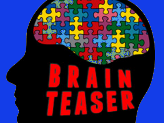 Brain Teasers - 20 questions, logic puzzles and riddles to stimulate thinking