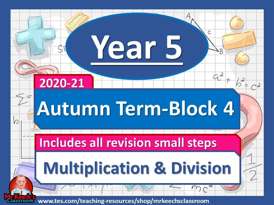 Year 5 - Multiplication and Division - Autumn Block 4 - White Rose Maths