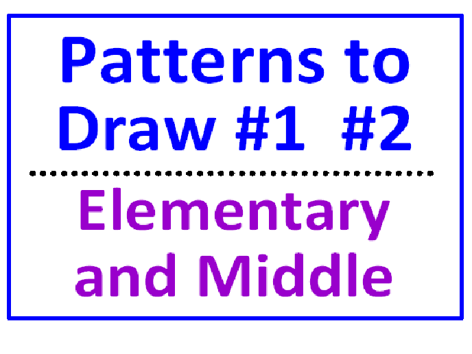 Maths for early years teaching resources: Patterns and symmetry | TES