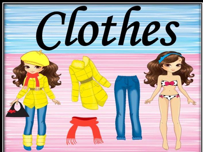 Clothes games.  Dressing games. Part 2