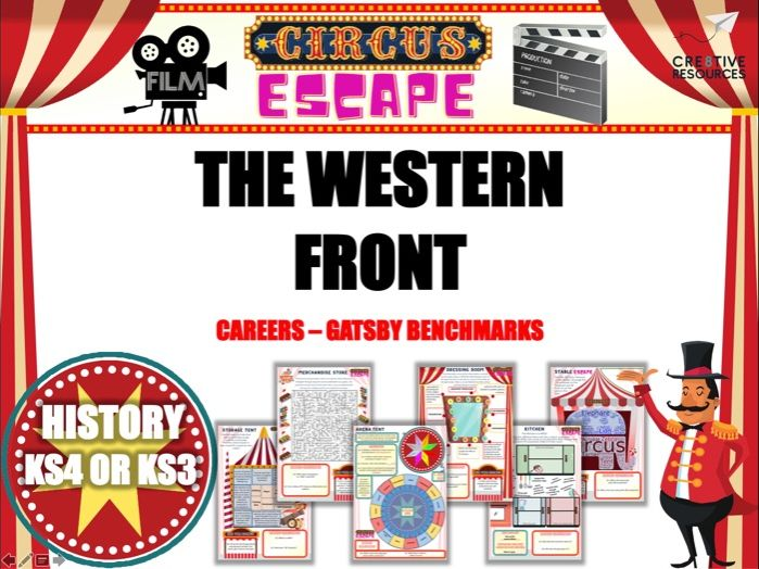 The Western Front and WW1 Escape Room