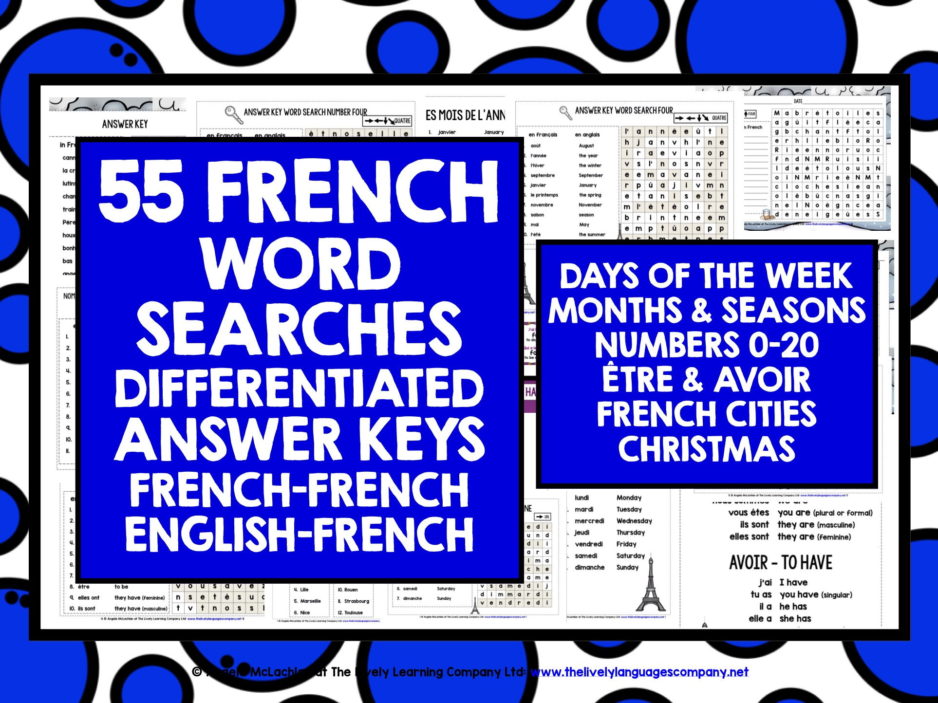 FRENCH WORD SEARCHES 1