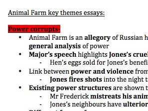 ANIMAL FARM detailed key themes & quotes