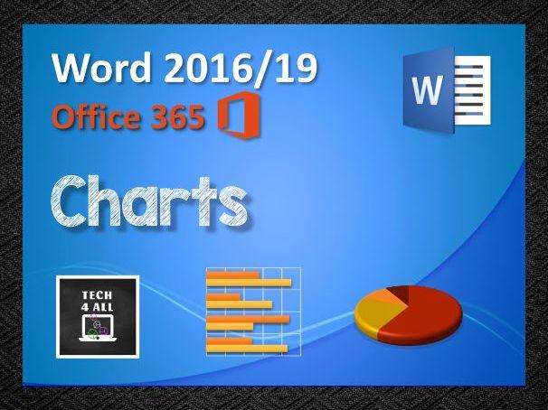 Charts in Microsoft Word