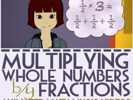 Multiplying Fractions by Whole Numbers KS2
