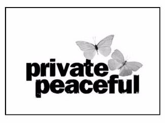 Private Peaceful Scheme of Work and accompanying resources