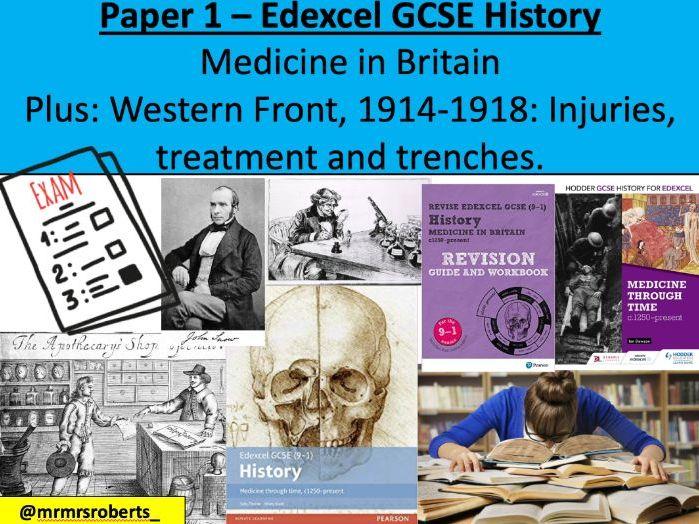 Decoding the exam - Edexcel GCSE History - Paper 1: Medicine in Britain
