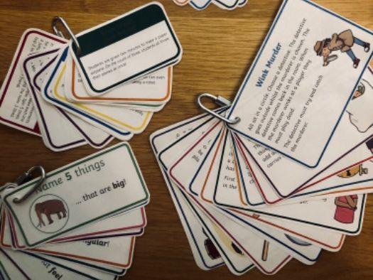 Brain Break / Mindfulness cards