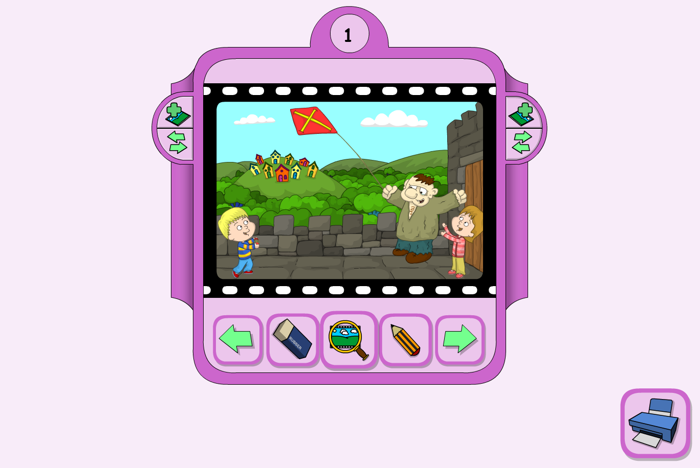 The Ogre's Birthday Interactive Storyboarder - KS1 Literacy