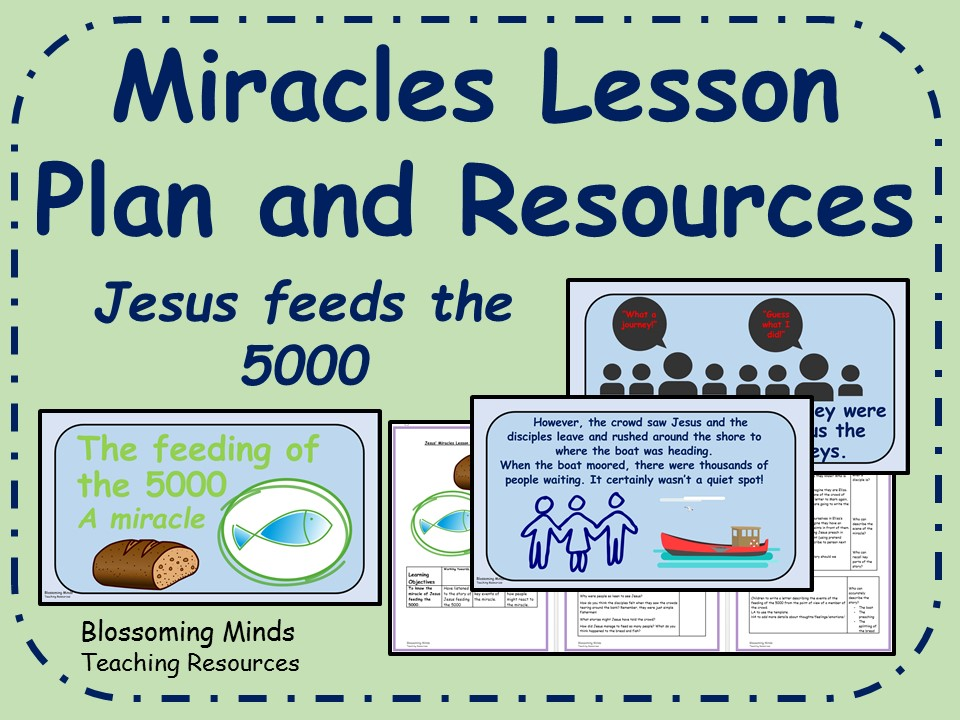 KS2 Lesson Plan and Resources - Jesus' Miracles - Feeding the 5000
