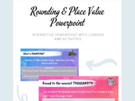 Rounding and Place Value Powerpoint