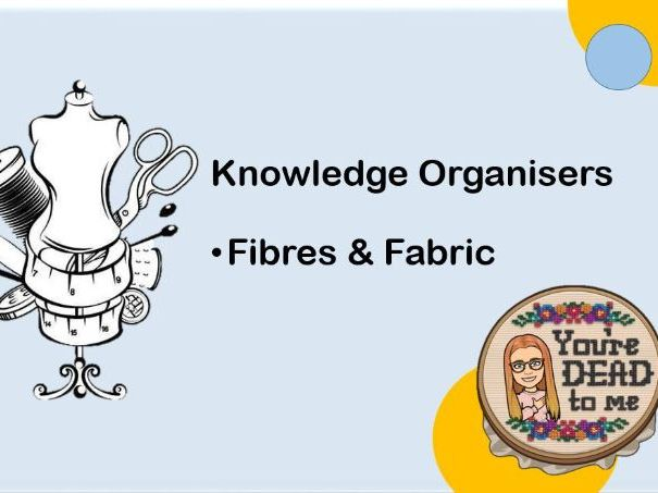 Fibres and Fabric Knowledge Organisers Textiles WJEC