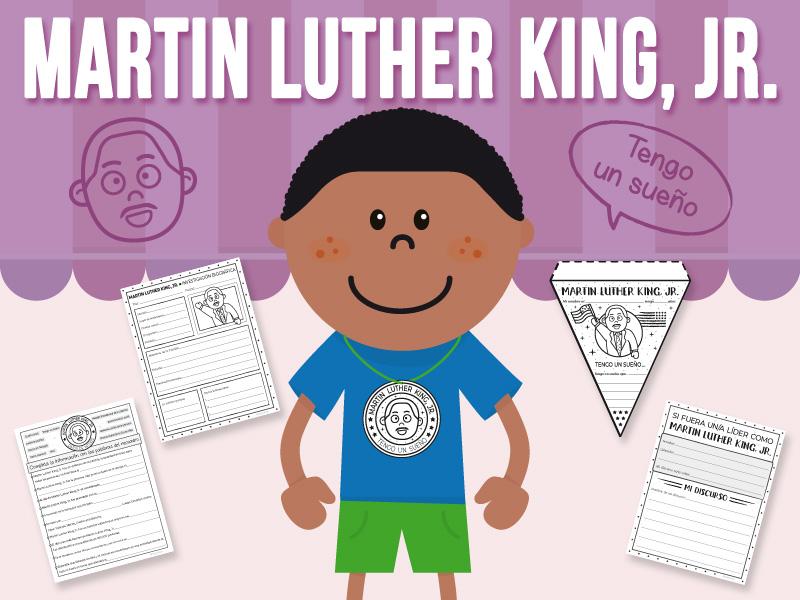 Martin Luther King, Jr. - Actividad