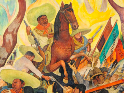 DIEGO RIVERA FULL HD MURAL DISPLAY