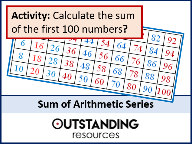 Sequences and Series 2 - Sum of Arithmetic Series